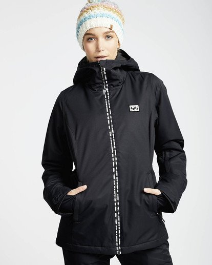 0 Sula Solid Snow Jacket Schwarz L6JF01BIF8 Billabong