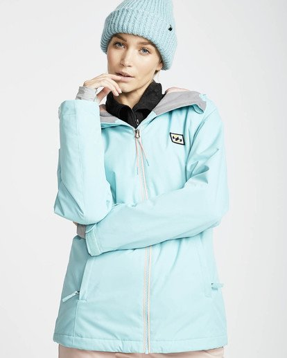 0 Sula Solid Snow Jacket Blue L6JF01BIF8 Billabong