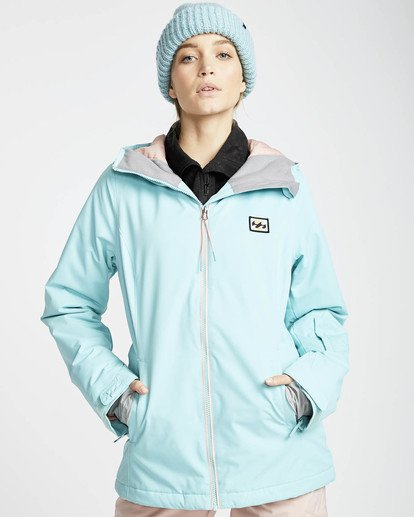 1 Sula Solid Snow Jacket Blue L6JF01BIF8 Billabong