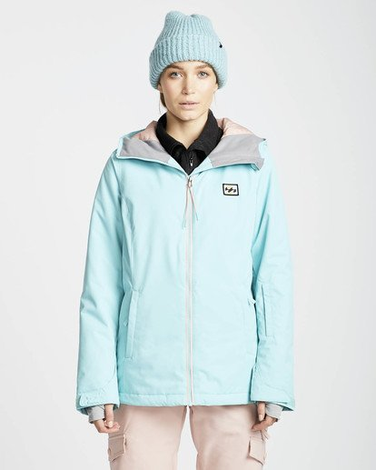4 Sula Solid Snow Jacket Blue L6JF01BIF8 Billabong