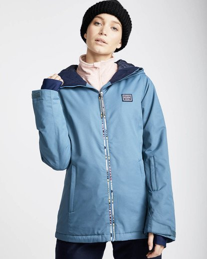 0 Sula Solid Snow Jacket Braun L6JF01BIF8 Billabong