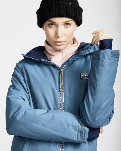 1 Sula Solid Snow Jacket Marron L6JF01BIF8 Billabong