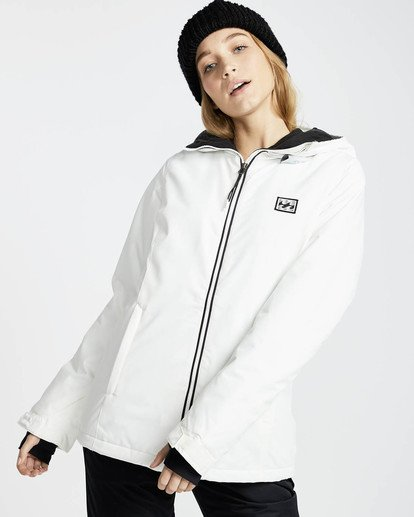 0 Sula Solid Snow Jacket Weiss L6JF01BIF8 Billabong