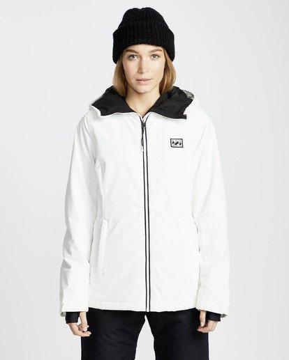 2 Sula Solid Snow Jacket Weiss L6JF01BIF8 Billabong