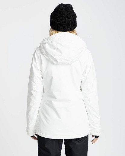 3 Sula Solid Snow Jacket Weiss L6JF01BIF8 Billabong