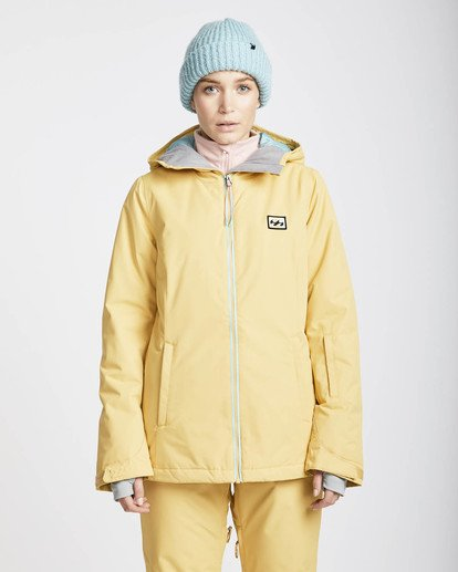 3 Sula Solid Snow Jacket Beige L6JF01BIF8 Billabong