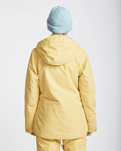 4 Sula Solid Snow Jacket Beige L6JF01BIF8 Billabong