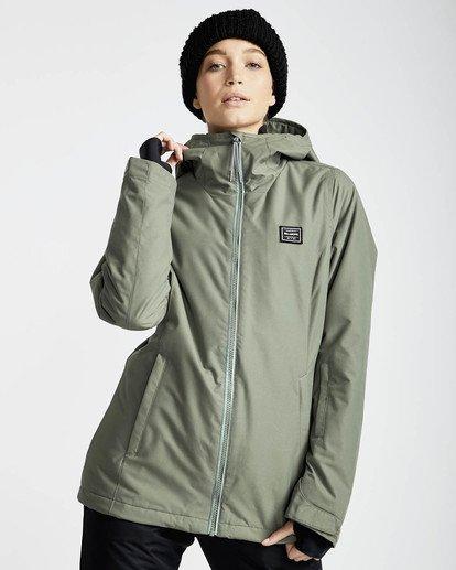 1 Sula Solid Snow Jacket Vert L6JF01BIF8 Billabong