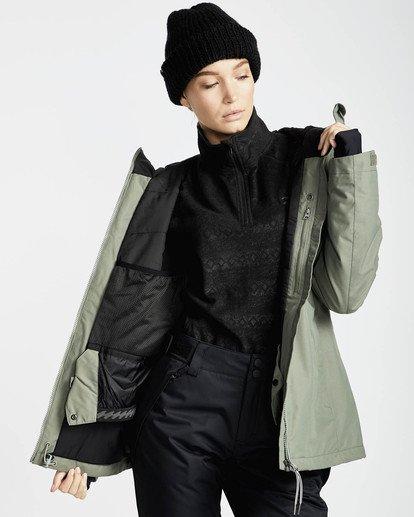 2 Sula Solid Snow Jacket Vert L6JF01BIF8 Billabong