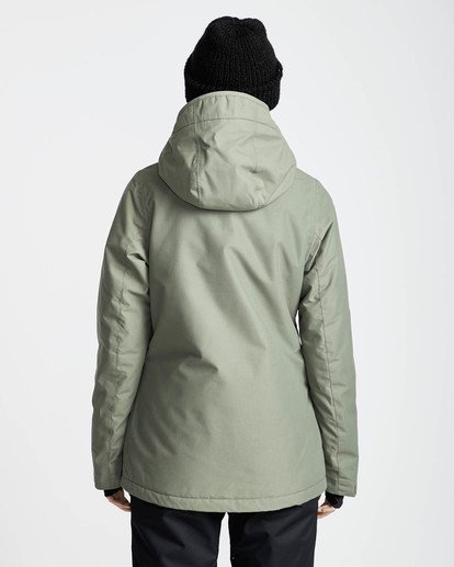 4 Sula Solid Snow Jacket Vert L6JF01BIF8 Billabong