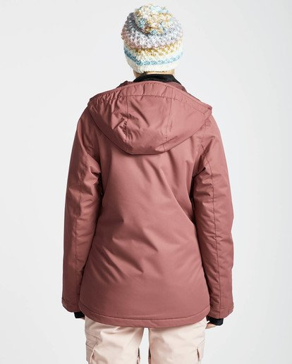 4 Sula Solid Snow Jacket Rot L6JF01BIF8 Billabong