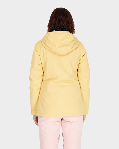 2 SULA SOLID SNOW JACKET Beige L6JF01S Billabong