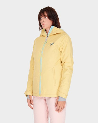 1 SULA SOLID SNOW JACKET Beige L6JF01S Billabong