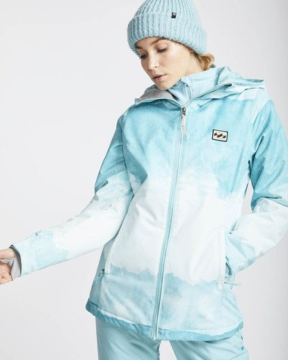0 Sula Printed Snow Jacket Azul L6JF02BIF8 Billabong