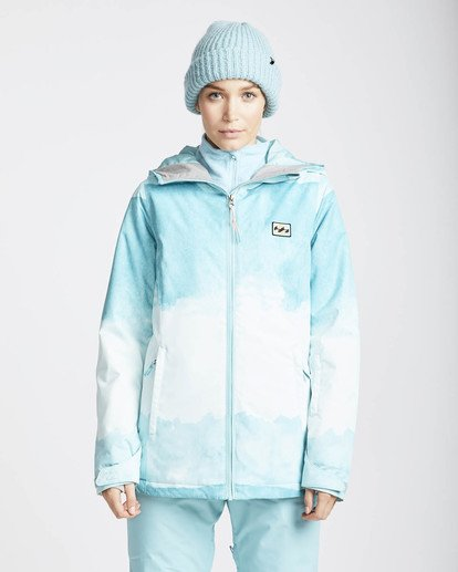 4 Sula Printed Snow Jacket Azul L6JF02BIF8 Billabong