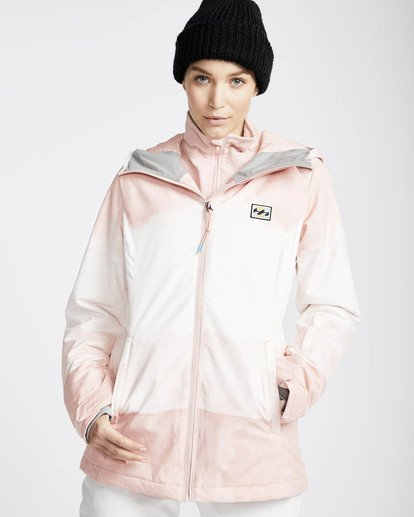 0 Sula Printed Snow Jacket Rosa L6JF02BIF8 Billabong