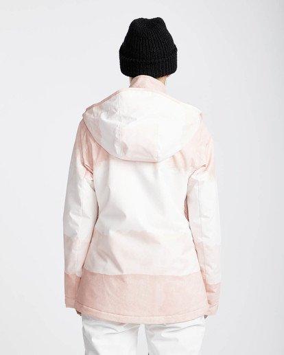 5 Sula Printed Snow Jacket Rosa L6JF02BIF8 Billabong