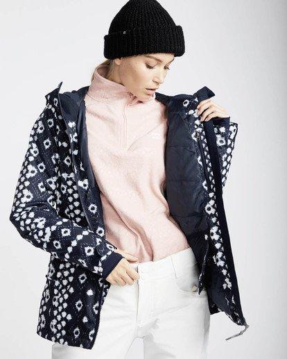 2 Sula Printed Snow Jacket Blau L6JF02BIF8 Billabong
