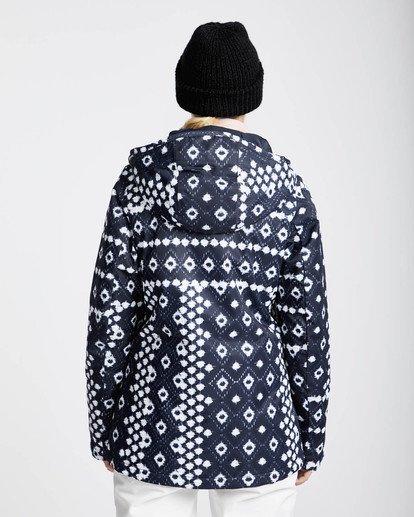 4 Sula Printed Snow Jacket Blau L6JF02BIF8 Billabong