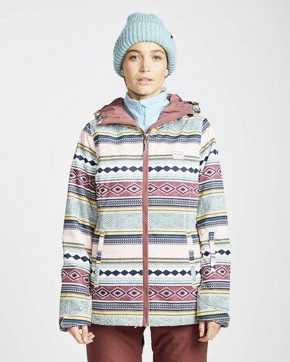 2 Sula Printed Snow Jacket Verde L6JF02BIF8 Billabong