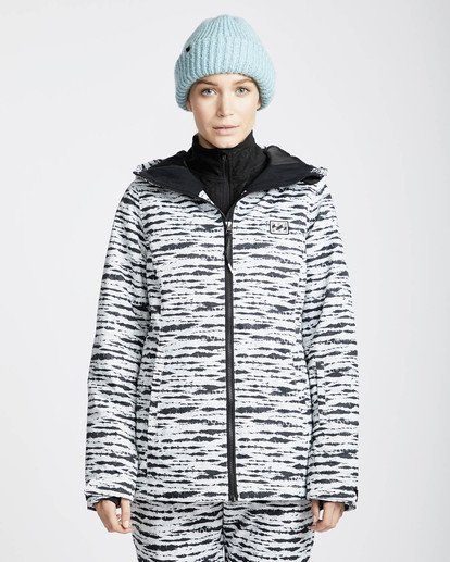 3 Sula Printed Snow Jacket Negro L6JF02BIF8 Billabong