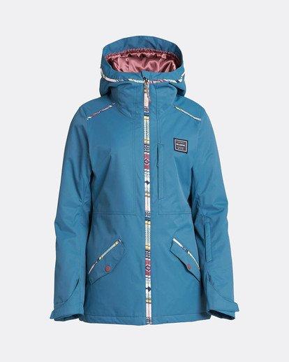 7 Jara 10K Snow Jacket Brown L6JF04BIF8 Billabong