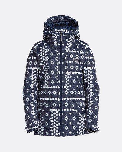 7 Jara 10K Snow Jacket Blau L6JF04BIF8 Billabong
