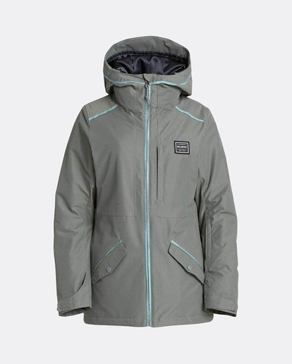 8 Jara 10K Snow Jacket Grün L6JF04BIF8 Billabong