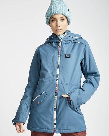 2 Jara 10K Snow Jacket Braun L6JF04BIF8 Billabong