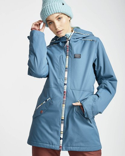 3 Jara 10K Snow Jacket Braun L6JF04BIF8 Billabong