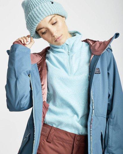 6 Jara 10K Snow Jacket Braun L6JF04BIF8 Billabong