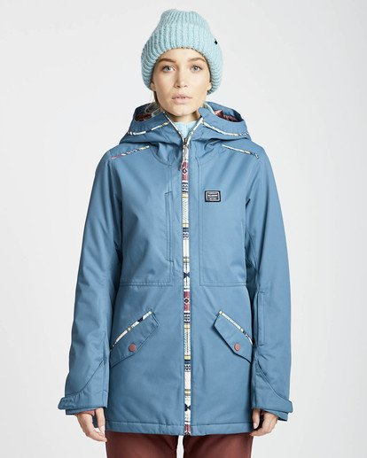 7 Jara 10K Snow Jacket Marron L6JF04BIF8 Billabong