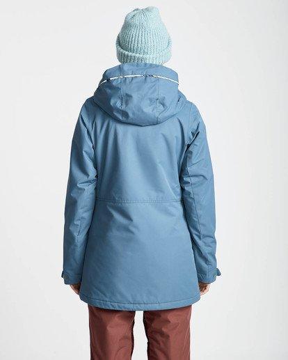 6 Jara 10K Snow Jacket Brown L6JF04BIF8 Billabong