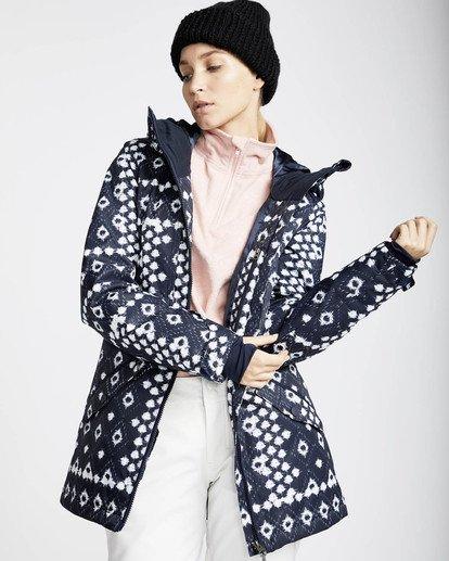 4 Jara 10K Snow Jacket Blau L6JF04BIF8 Billabong