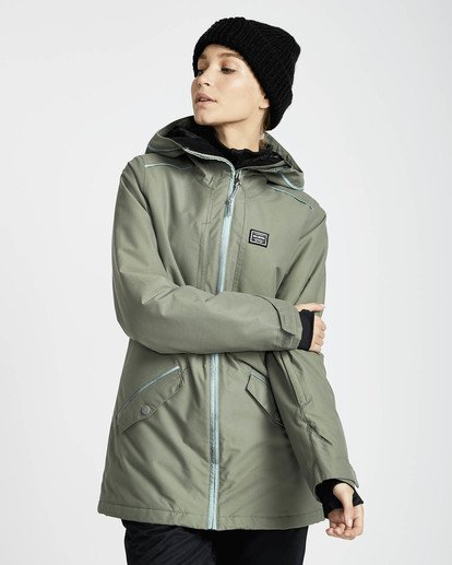2 Jara 10K Snow Jacket Grün L6JF04BIF8 Billabong