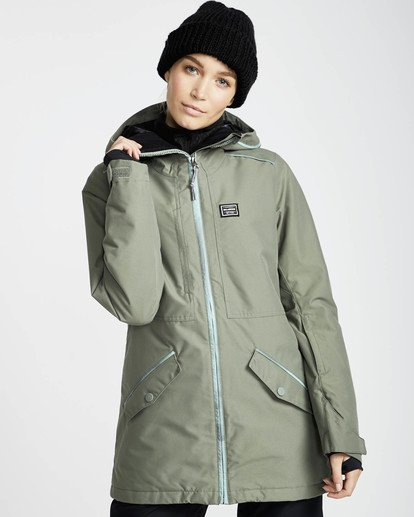 3 Jara 10K Snow Jacket Grün L6JF04BIF8 Billabong