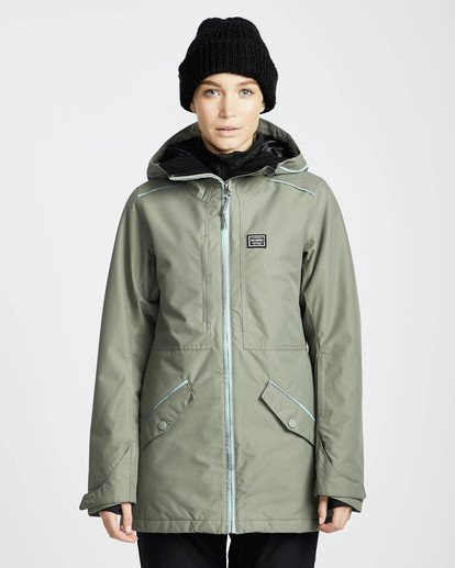 6 Jara 10K Snow Jacket Grün L6JF04BIF8 Billabong