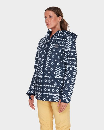 1 JARA SNOW JACKET Blue L6JF04S Billabong