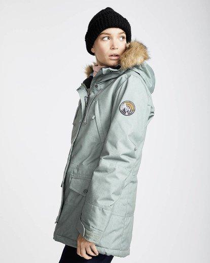0 Nora 10K Primaloft Snow Jacket Grün L6JF05BIF8 Billabong