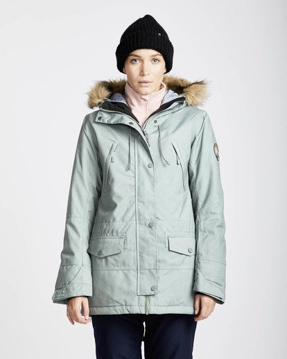 5 Nora 10K Primaloft Snow Jacket Grün L6JF05BIF8 Billabong