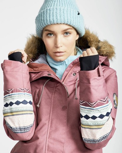 1 Nora 10K Primaloft Snow Jacket Rojo L6JF05BIF8 Billabong