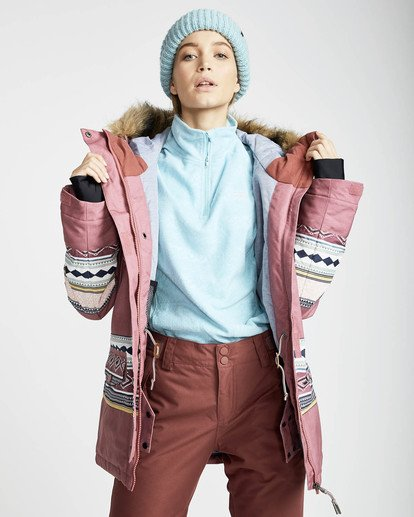 2 Nora 10K Primaloft Snow Jacket Rojo L6JF05BIF8 Billabong