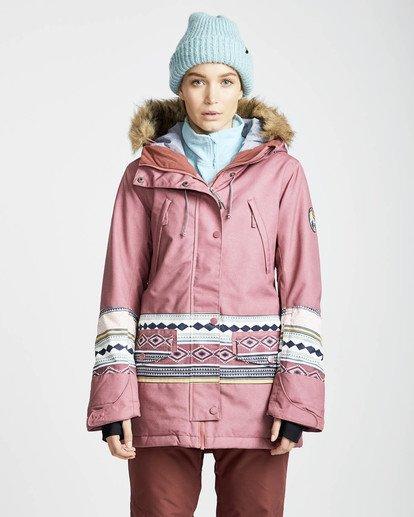 3 Nora 10K Primaloft Snow Jacket Rojo L6JF05BIF8 Billabong