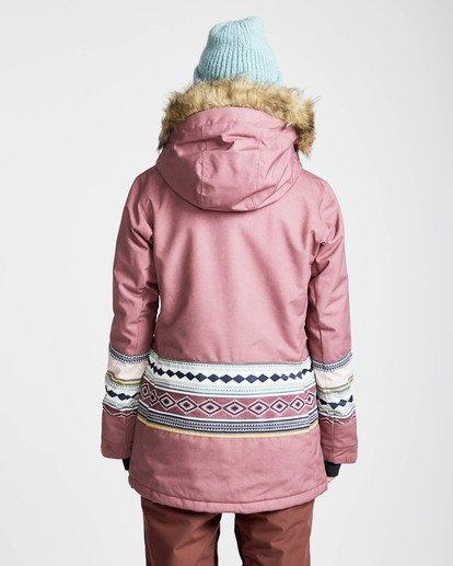 4 Nora 10K Primaloft Snow Jacket Rojo L6JF05BIF8 Billabong