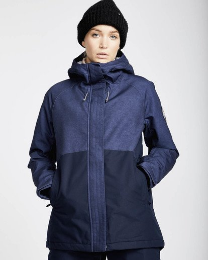 0 Sienna Snow Jacket Azul L6JF06BIF8 Billabong