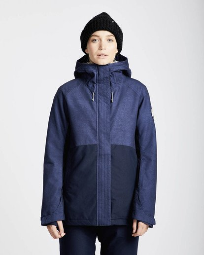 4 Sienna Snow Jacket Azul L6JF06BIF8 Billabong
