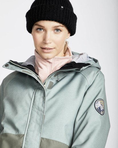 1 Sienna Snow Jacket Grün L6JF06BIF8 Billabong