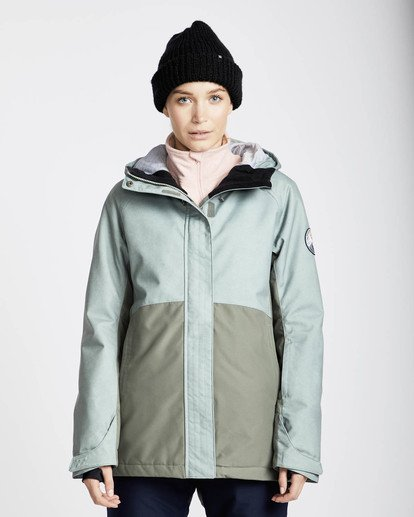 3 Sienna Snow Jacket Grün L6JF06BIF8 Billabong