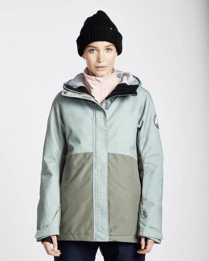 3 Sienna Snow Jacket Verde L6JF06BIF8 Billabong