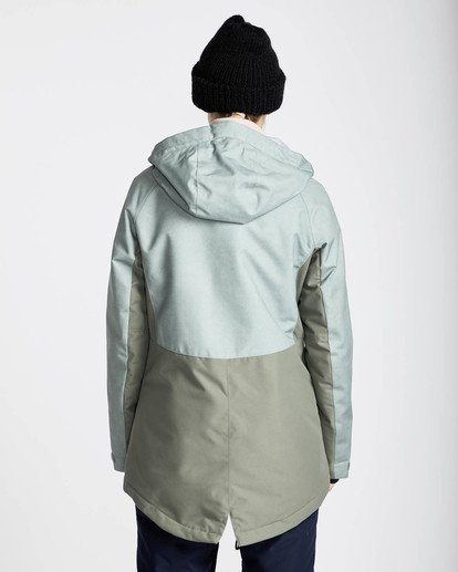 4 Sienna Snow Jacket Grün L6JF06BIF8 Billabong